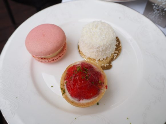 Pastries (separate plate for deitary requirements purposes)- Montague on the Gardens Hotel London