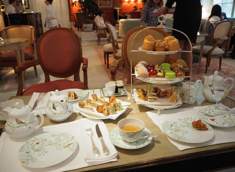 Afternoon tea - Hôtel Le Bristol Paris