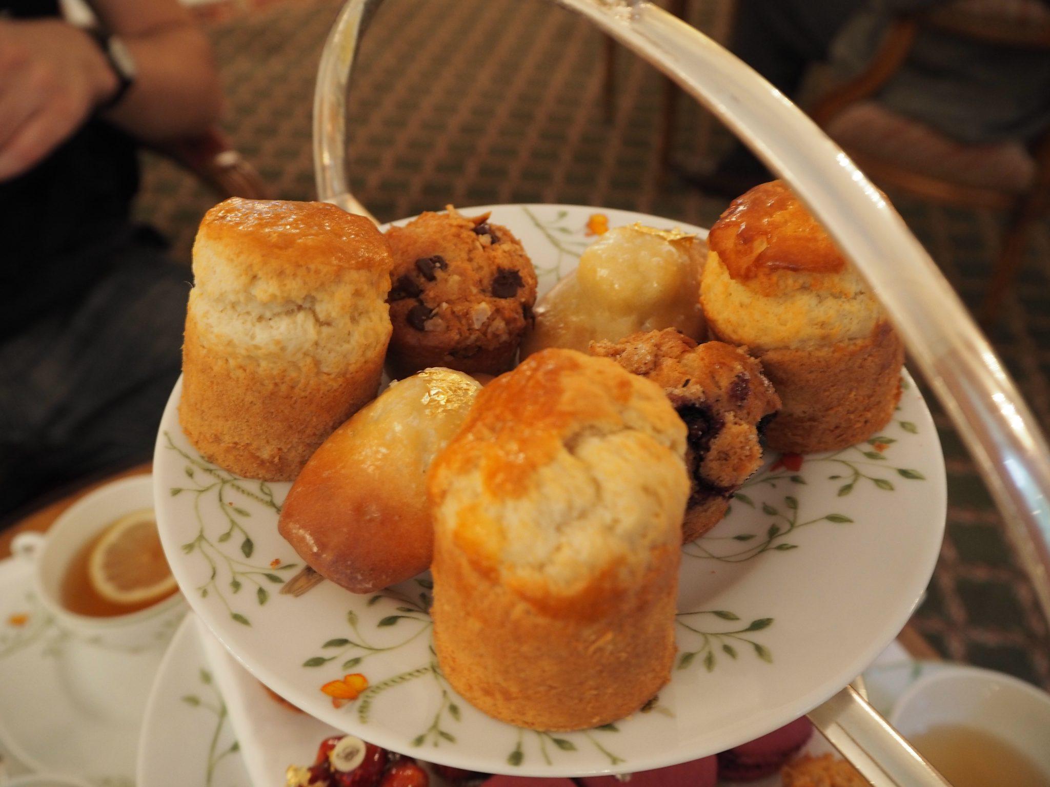 Les Scones, Muffins & Madeleines - Hôtel Le Bristol Paris