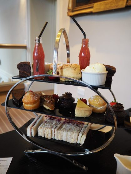 Savouries, Scones & Pastries - Afternoon Tea at Binswood Hall