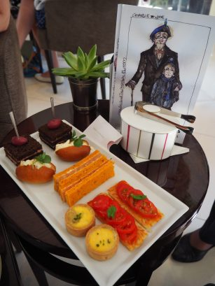 Savouries (Served in The Lobby) - Charlie & The Chocolate Factory Afternoon Tea