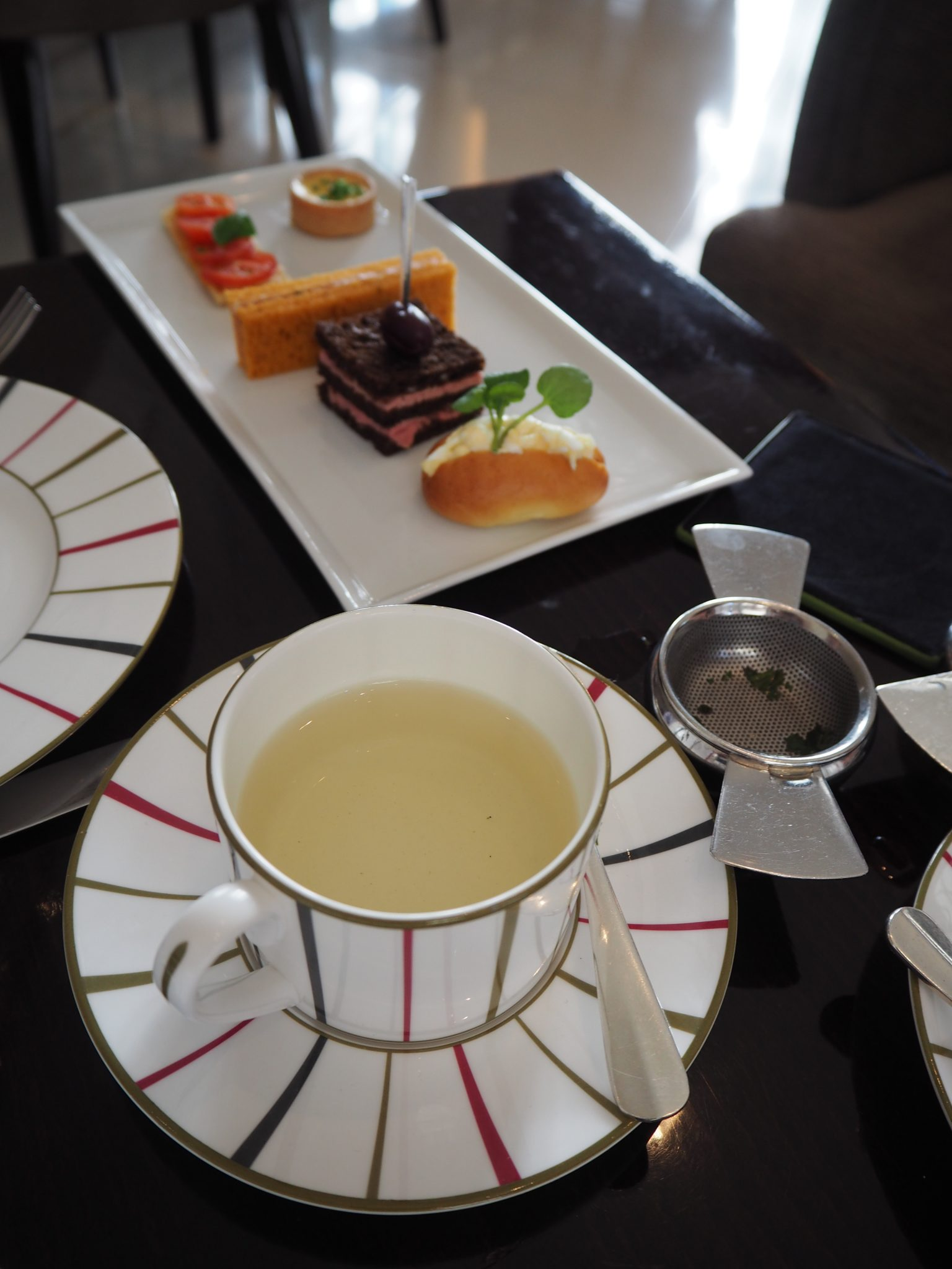 Savouries & Green Dragon Tea (Served in The Lobby) - Charlie & The Chocolate Factory Afternoon Tea