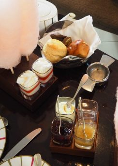 The Berry Jam, Apple Compote and Clotted Cream - Charlie & The Chocolate Factory Afternoon Tea