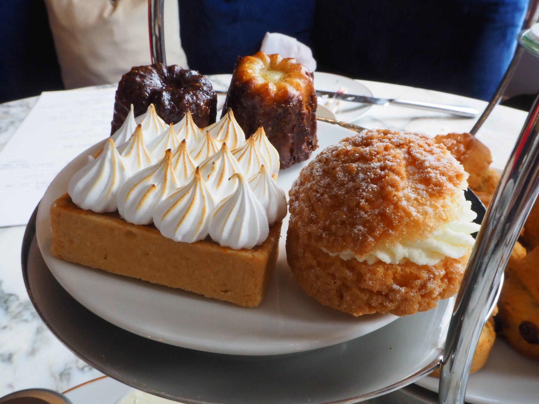Dulce de Leche Cherry Pie; Sweet Profiteroles;