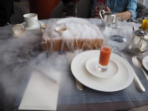 Shangri-La at the Shard - Teh tarik