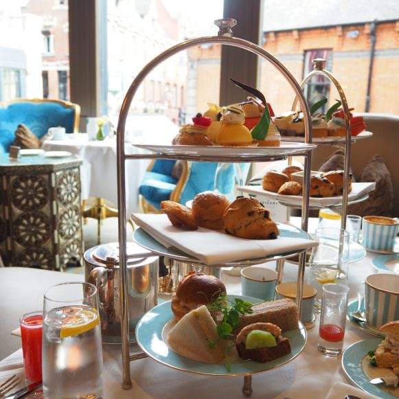 The Westbury Hotel Dublin - NCAD Fashion Afternoon Tea