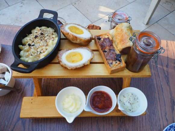 The Knight's Afternoon Tea Savouries