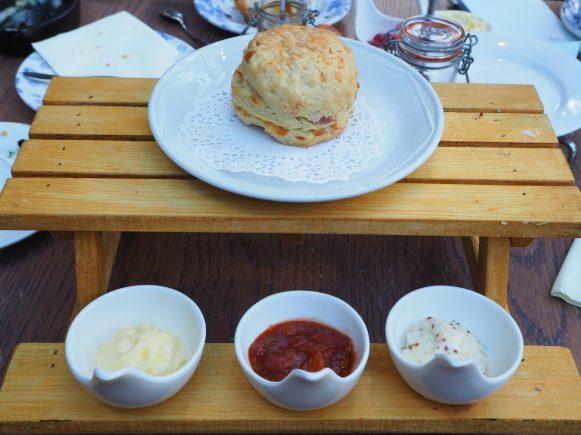 The savoury scone