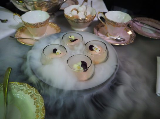The Amuse Bouche on Dry Ice