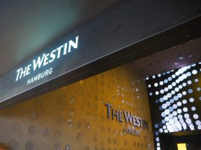 The Westin Hamburg Entrance