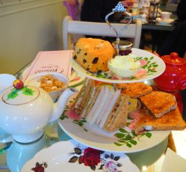 Afternoon Tea at Vinteas Tea Room, Leamington Spa – Review ★★★★★