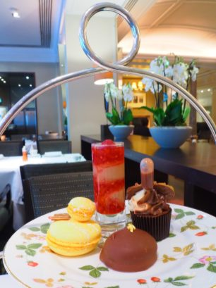 ChocolaTEA Afternoon Tea Hyatt Regency London The Churchill Montagu restaurant