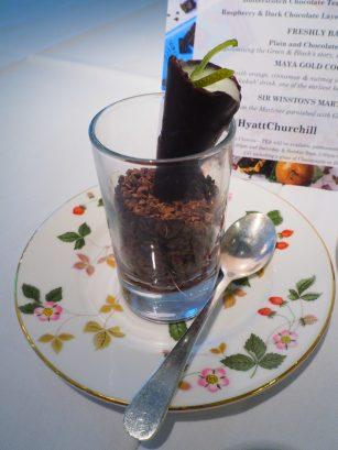 ChocolaTEA Afternoon Tea Hyatt Regency London The Churchill Montagu restaurant