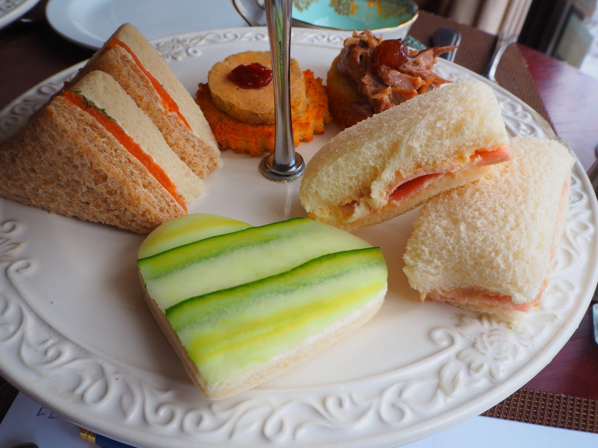 The Savouries / Le Salé - Afternoon Tea at Le Parloir tea room / Afternoon Tea au Salon de Thé Le Parloir