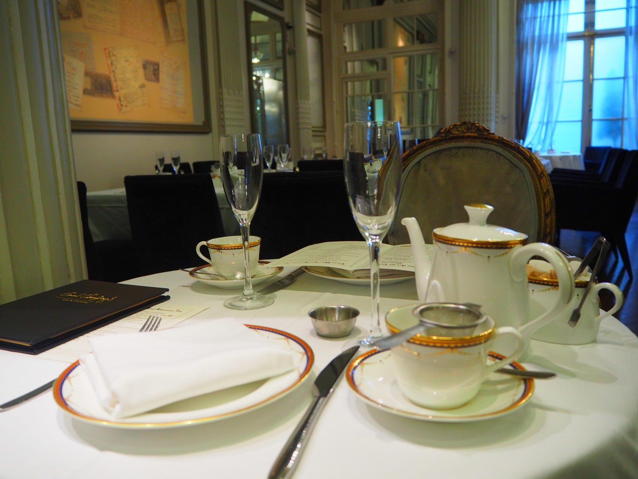 Tea & Beverages - The Waldorf Hilton Hotel London Afternoon Tea