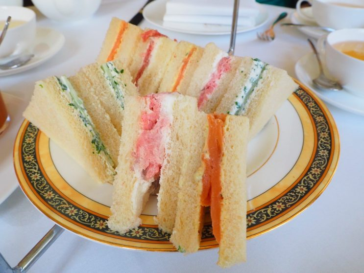 The savouries - The Park Hyatt Hamburg afternoon tea