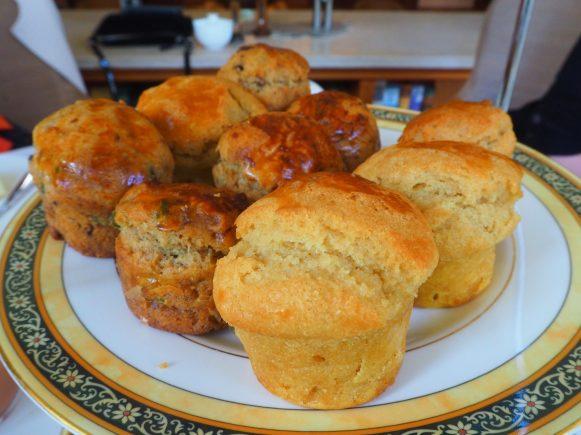 The muffins - The Park Hyatt Hamburg afternoon tea