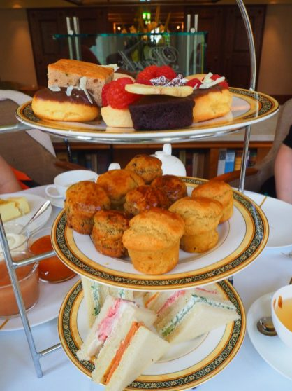 The Park Hyatt Hamburg afternoon tea