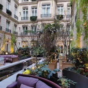 Terrace/Terrasse La Brasserie d'Aumont Christmas/Noël 2018
