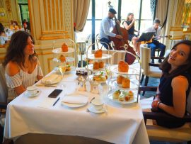 Tea Time de l'Hôtel Le Peninsula Paris - Avis ★★★★☆ (French/Français)