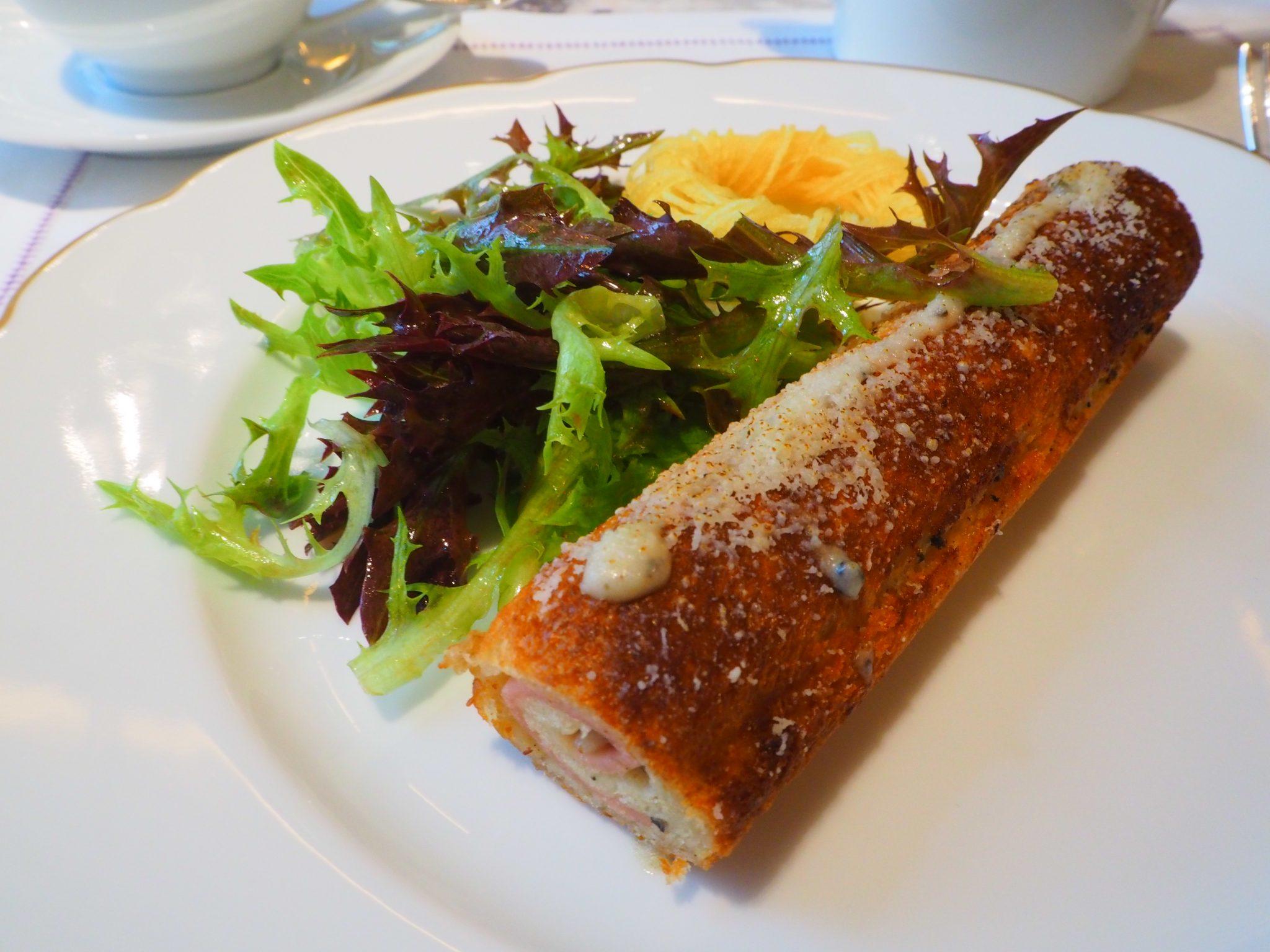 Croque Gentleman - Afternoon Tea / Tea Time - Hôtel de Crillon Paris