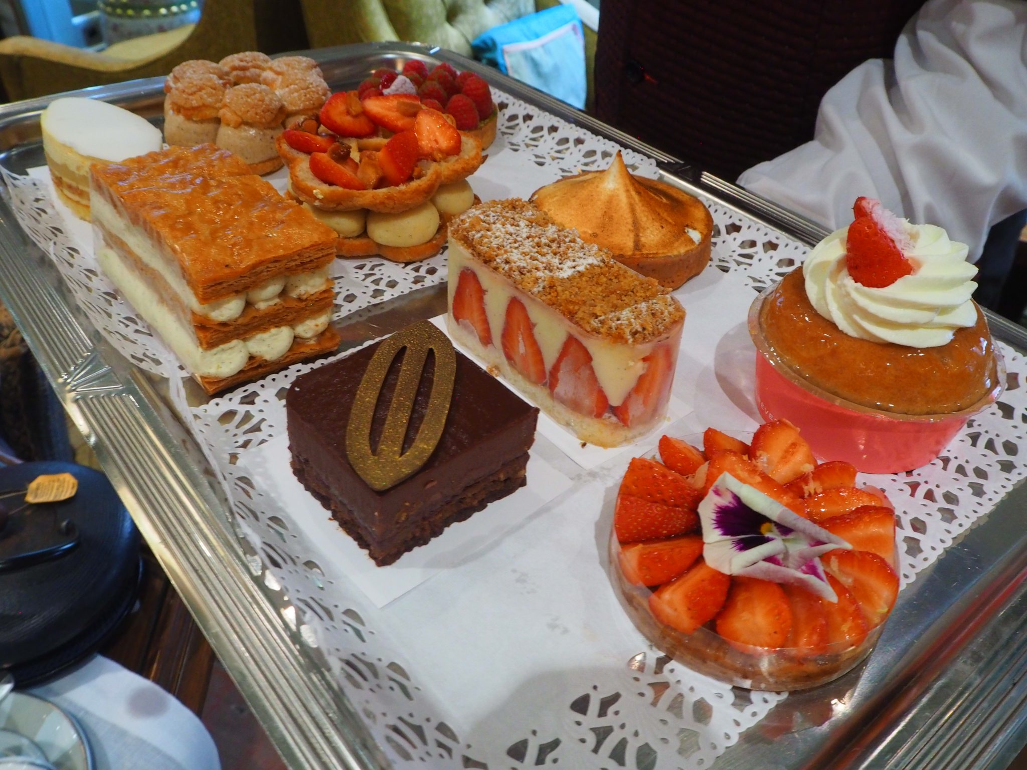 Cakes & Pastries / Gâteaux de la Pâtisserie des Rêves - Afternoon Tea / Tea Time Hotel Daniel Paris