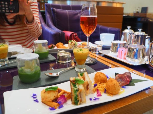 The Savouries - Spanish Afternoon Tea at the COMO The Halkin London