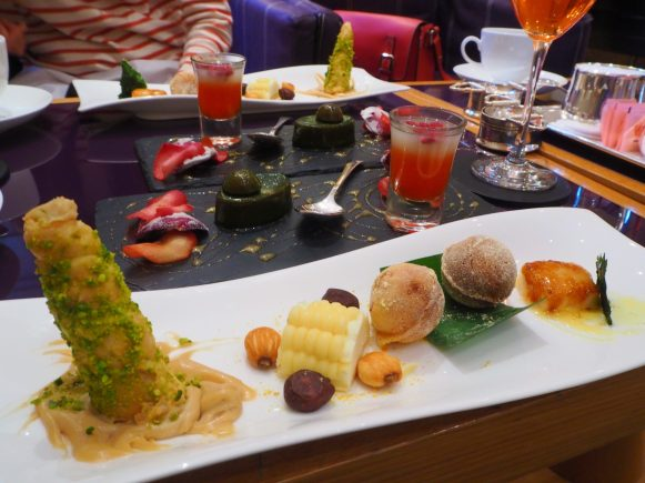 The Cakes & Sweets - Spanish Afternoon Tea at the COMO The Halkin London