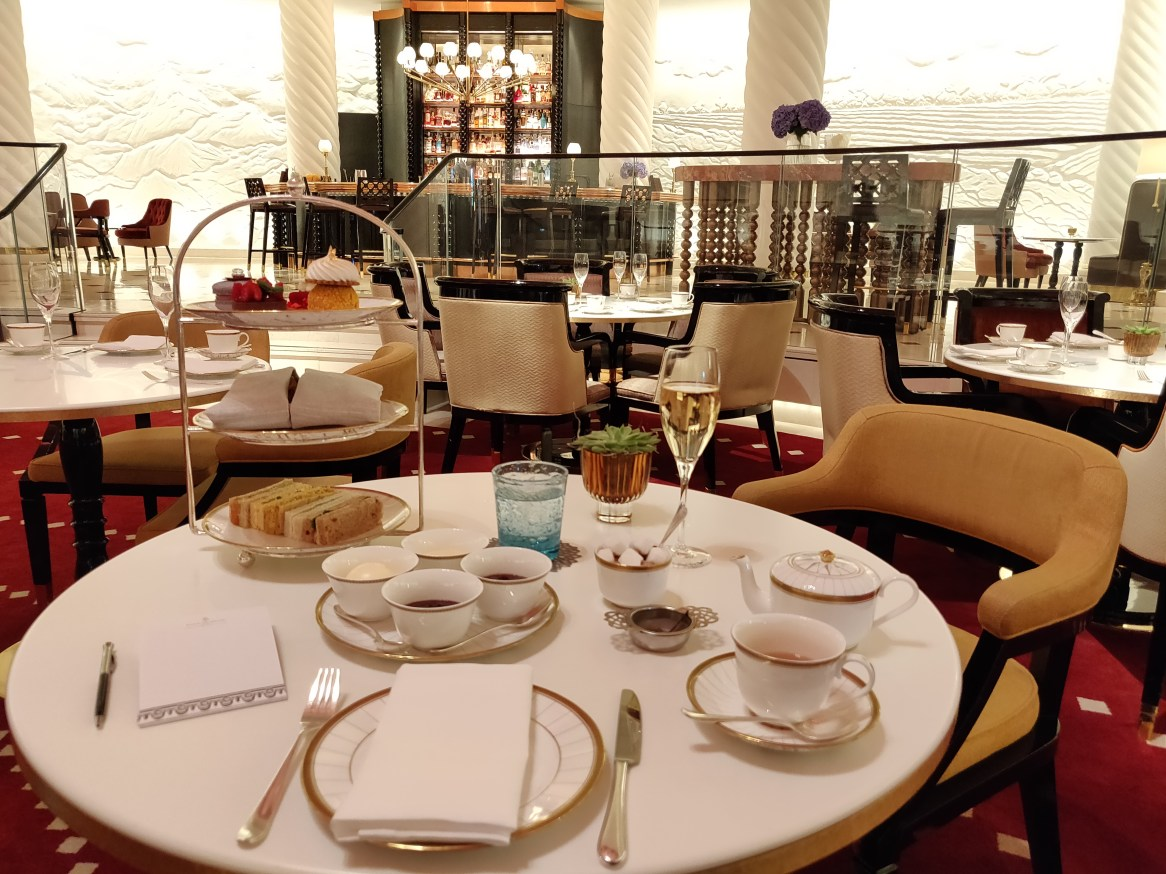 The Crown Jewels Afternoon Tea at the Four Seasons at Ten Trinity Square