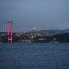 View of the Bosphorus