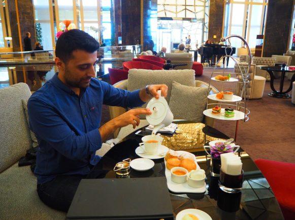 Raffles Istanbul High Tea