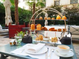 Afternoon Tea at La Réserve Paris Hotel & Spa - Review ★★★★★ (English/Anglais)