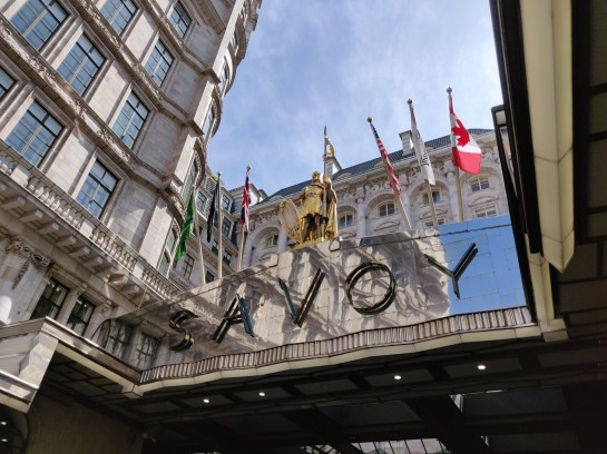 Fairmont Savoy London - Exterior