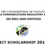 TCRA ICT Scholarships for Tanzania Students in Tanzania 2016/2017
