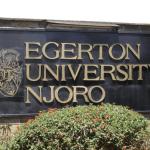 Egerton University Masters Research Grants