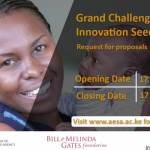 Grand Challenges Africa Innovation Seed Grants 2017 for Innovative Health and Development Solutions