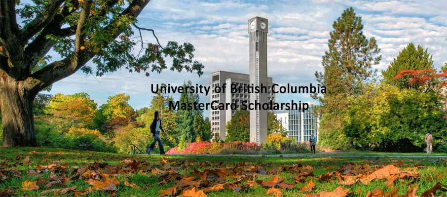 e2d5e57e1243 Study in Canada  University of British Columbia MasterCard Foundation  Scholarships 2019 2020 for African Students