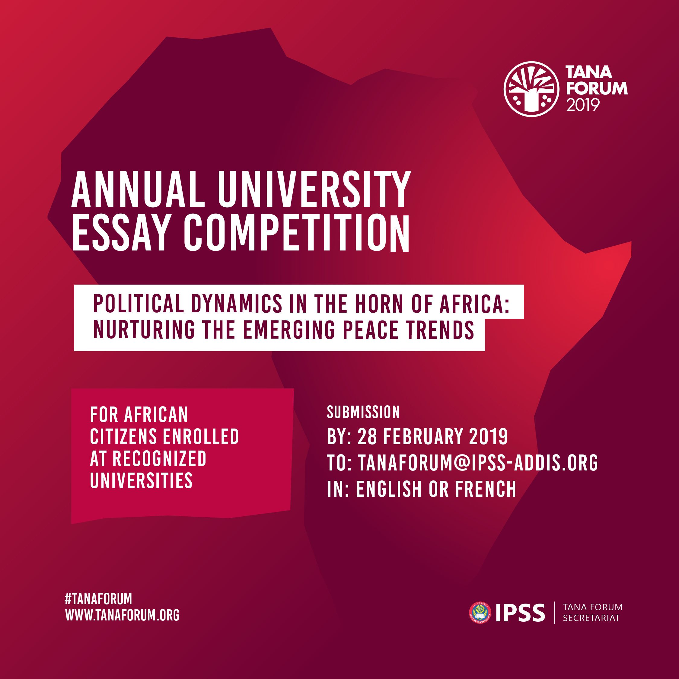 international essay competitions for university students