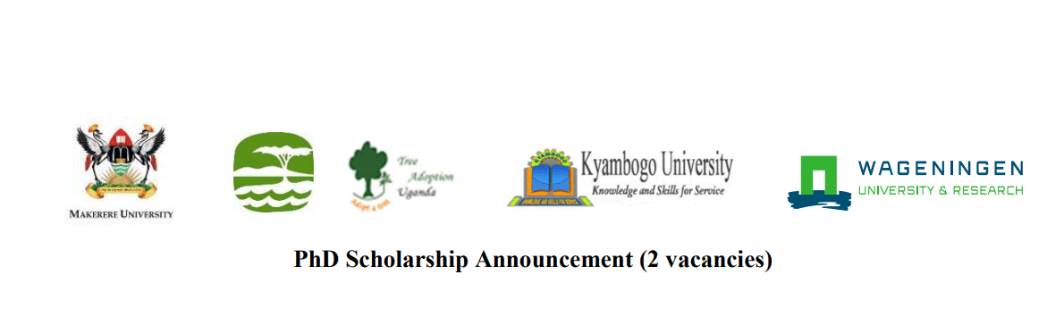 Wageningen University/Makerere University/Kyambogo University PhD