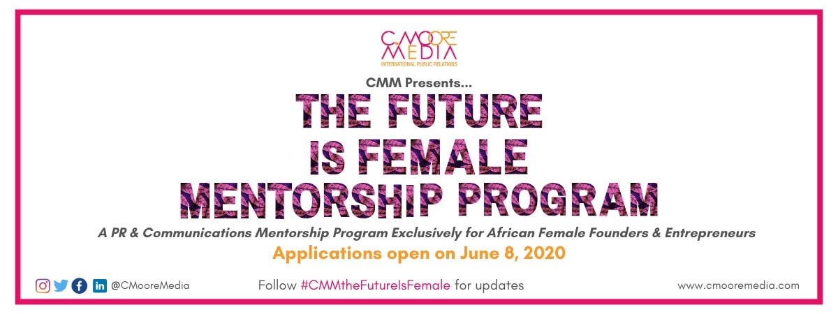 The Future is Female Mentorship Program 2020 for African Tech Women Founders