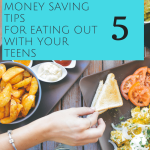 Eating out with teens