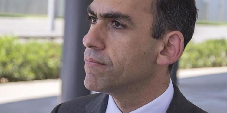 Υπουργός Οικονομικών Χάρης Γεωργιάδης