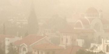 σκόνη στην ατμόσφαιρα