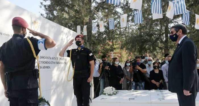 Πρόεδρος Αναστασιάδης: Μέρα μνήμης που δεν πρέπει ποτέ να διαγραφεί η επέτειος του πραξικοπήματος