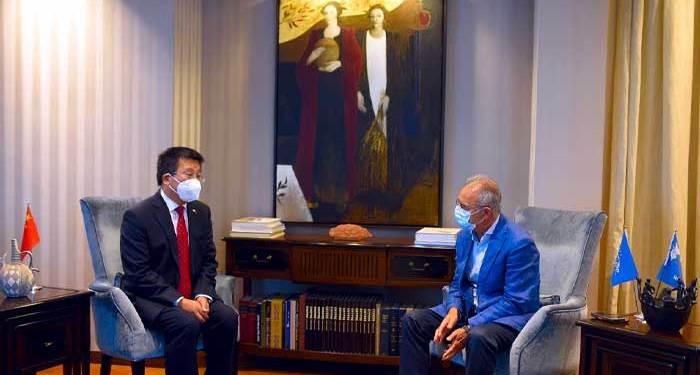 Τα Βαρώσια και οι έκνομες ενέργειες της Τουρκίας σε συναντήσεις Προέδρου ΔΗΣΥ με Πρέσβεις ΗΠΑ και Κίνας