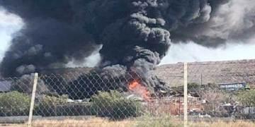 πυρκαγιές στη βιομηχανική περιοχή