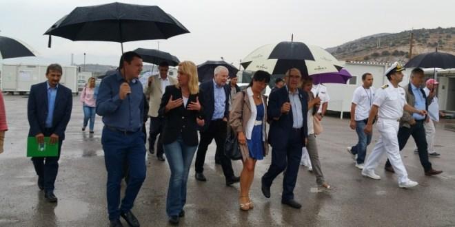 Σκαραμαγκά επισκέφτηκε ο Ζαν Κλωντ Φρεκόν