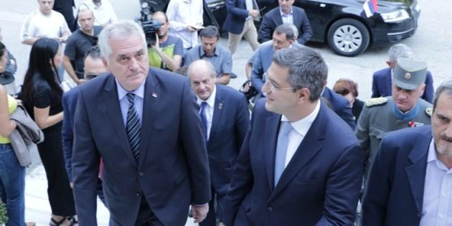 Τζιτζικώστας υποδέχτηκε τον Πρόεδρο της Σερβικής Δημοκρατίας