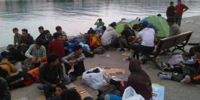 μεταναστευτικό στη Λέσβο