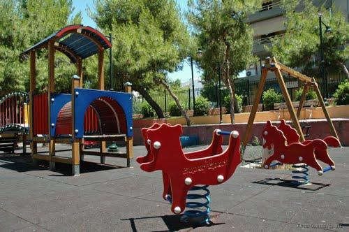 παιδικές χαρές στο Ίλιον